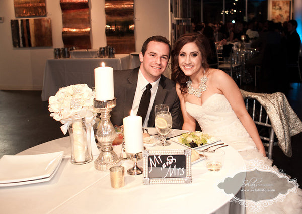 Whitney and Mike | Weddings and Events at Art Design Consultants Gallery