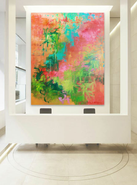 Oversized Art by Patrick Williams I Art Design Consultants