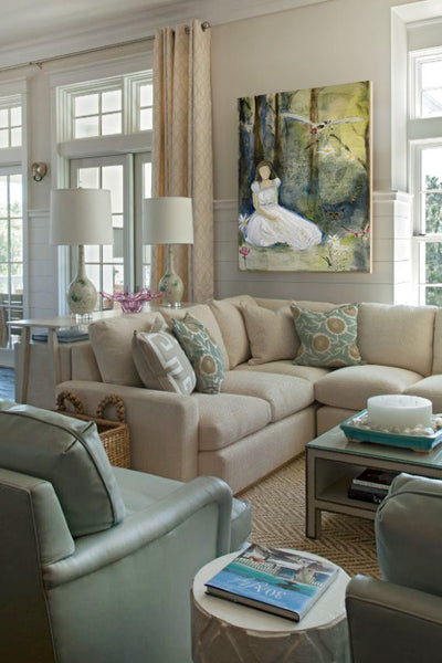 Artwork by Rae Broyles | Art Design Consultants