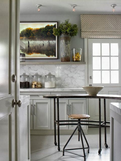 Kitchen design inspiration with artwork by Brian Truono | Art Design Consultants