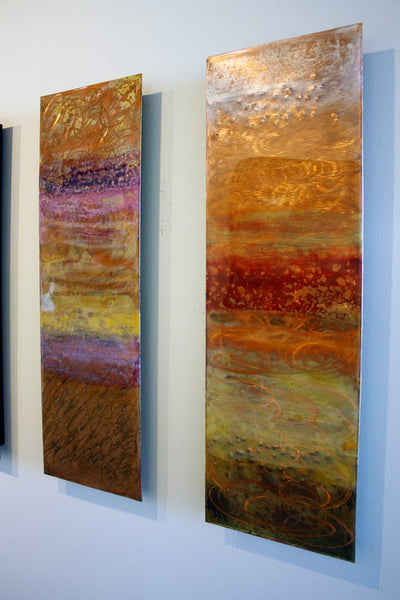 Copperworks by Ken Rausch   The Jewel Collection   Art Design Consultants