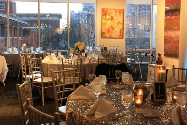 Weddings and special events at Art Design Consultants Gallery in the Sky