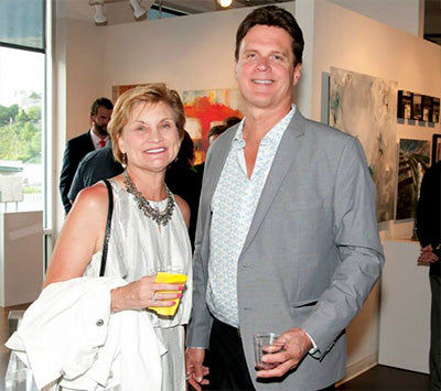 Diane Otrembiak and Jim Otrembiak | Art Comes Alive 2014 | Art Design Consultants