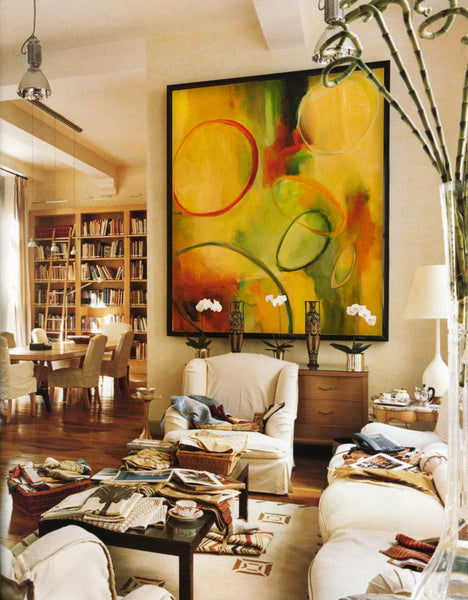 Oversized art by Kevin Poole I Art Design Consultants