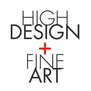 High Design + Fine Art Exhibition Logo