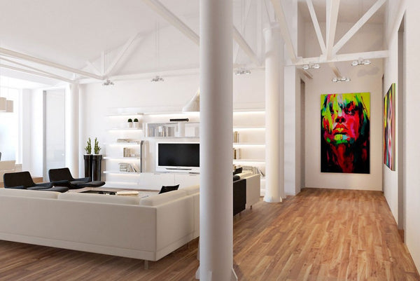 Interior design inspiration - loft apartment | Blink Art Resource