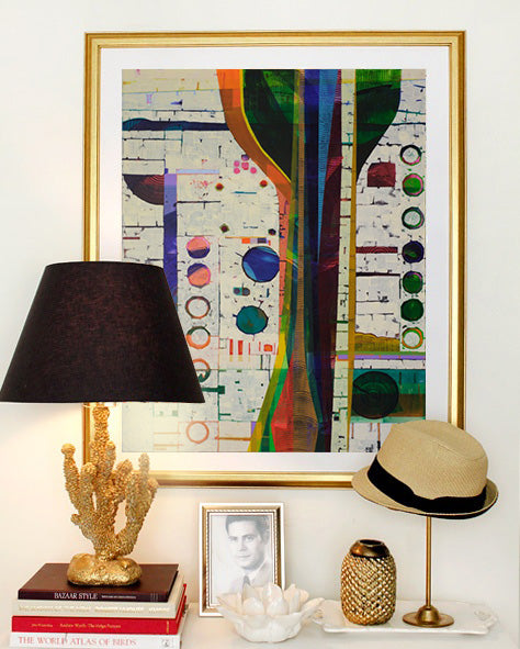 Custom framing solutions from Art Design Consultants | Art by Chin Yuen