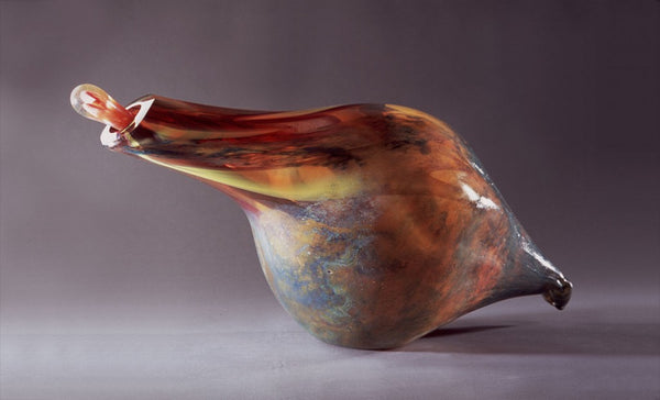 Glass sculpture by artist Barry Entner | Art Design Consultants