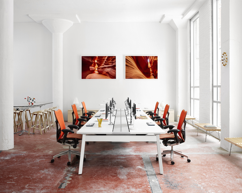 Modern Style for the corporate office, artwork by Brian Truono