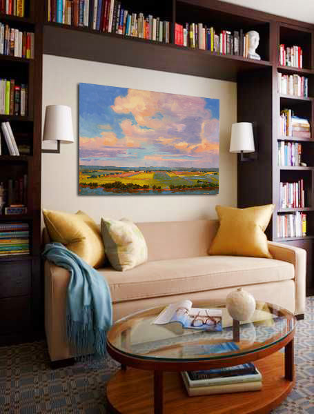 Paintings by Lynn Dunbar | Art Design Consultants