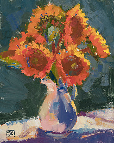 Flower still life painting by Lynn Dunbar | Art Design Consultants