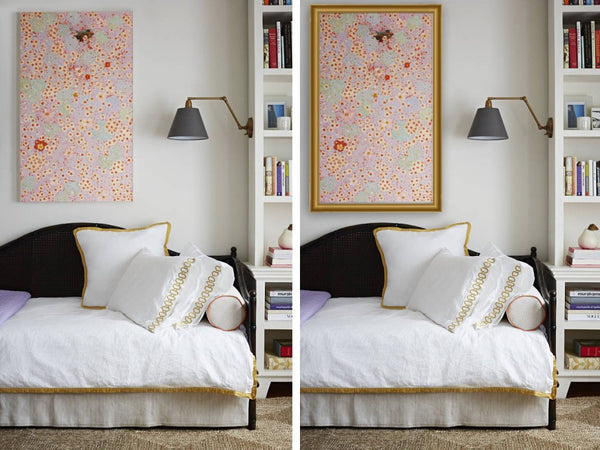 Art Design Consultants Framing | Before and After
