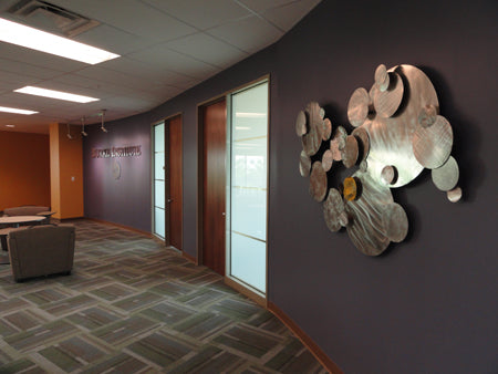 Corporate Art project at Burke Inc. featuring artwork by Ken Rausch | Art Design Consultants