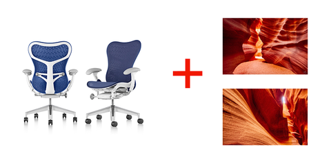 Herman Miller Mirra 2 Chair and Fine Art Photography by Brian Truono