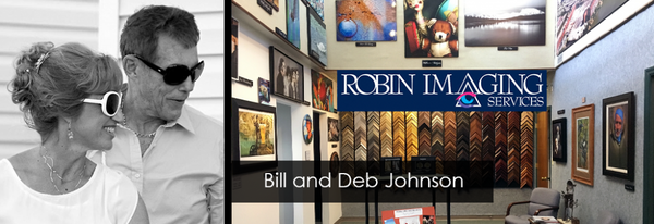 Bill and Deb Johnson, Robin Imaging Services