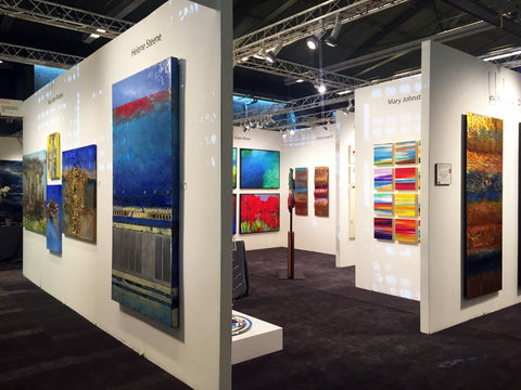 Art Desing Consultants booth at Art San Diego art fair