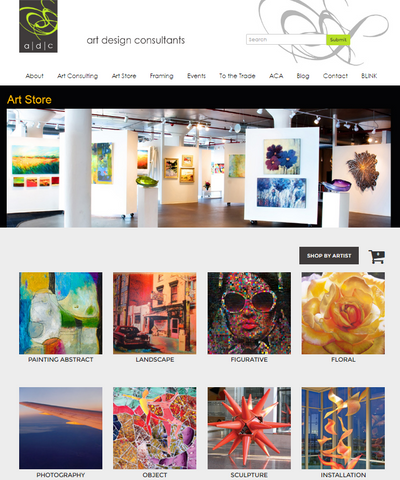 ADC, Art Design Consultants online art store