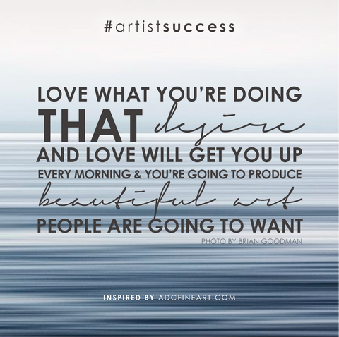 Successful artist quote