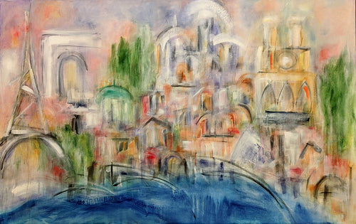 Ann Headley, artist, Paris, ADC Fine Art, Painting, original art