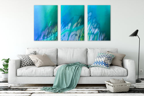 Coral Reef Triptych