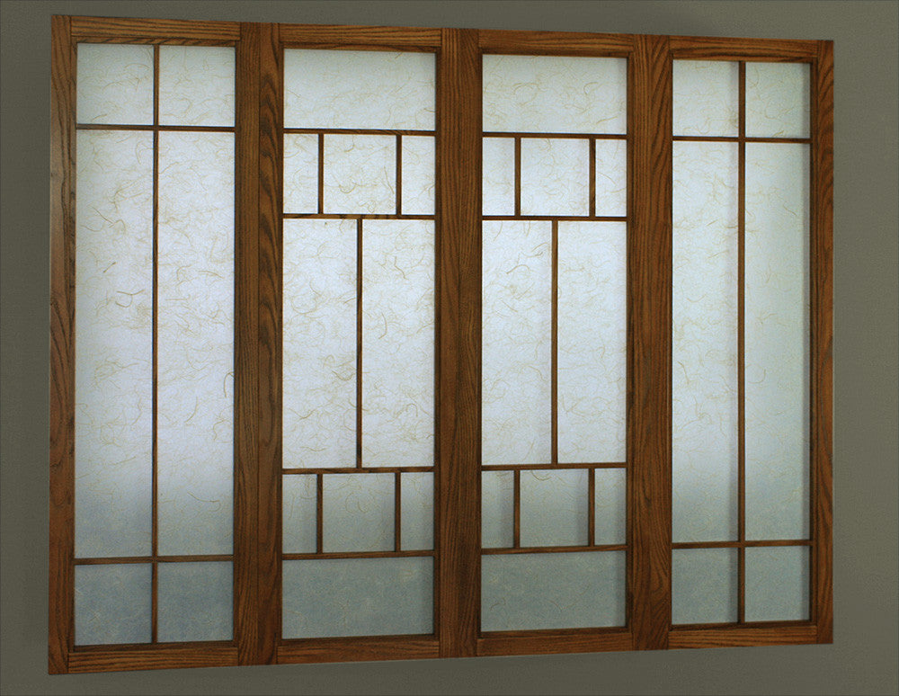 Shoji Surrounds / 2 or 4 panel - either laminated or encapsulated facings