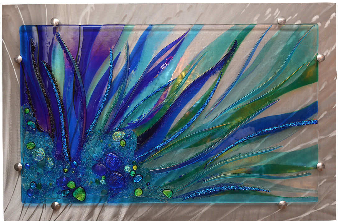Beneath the Surface / 40 x 26 / glass mounted on aluminum