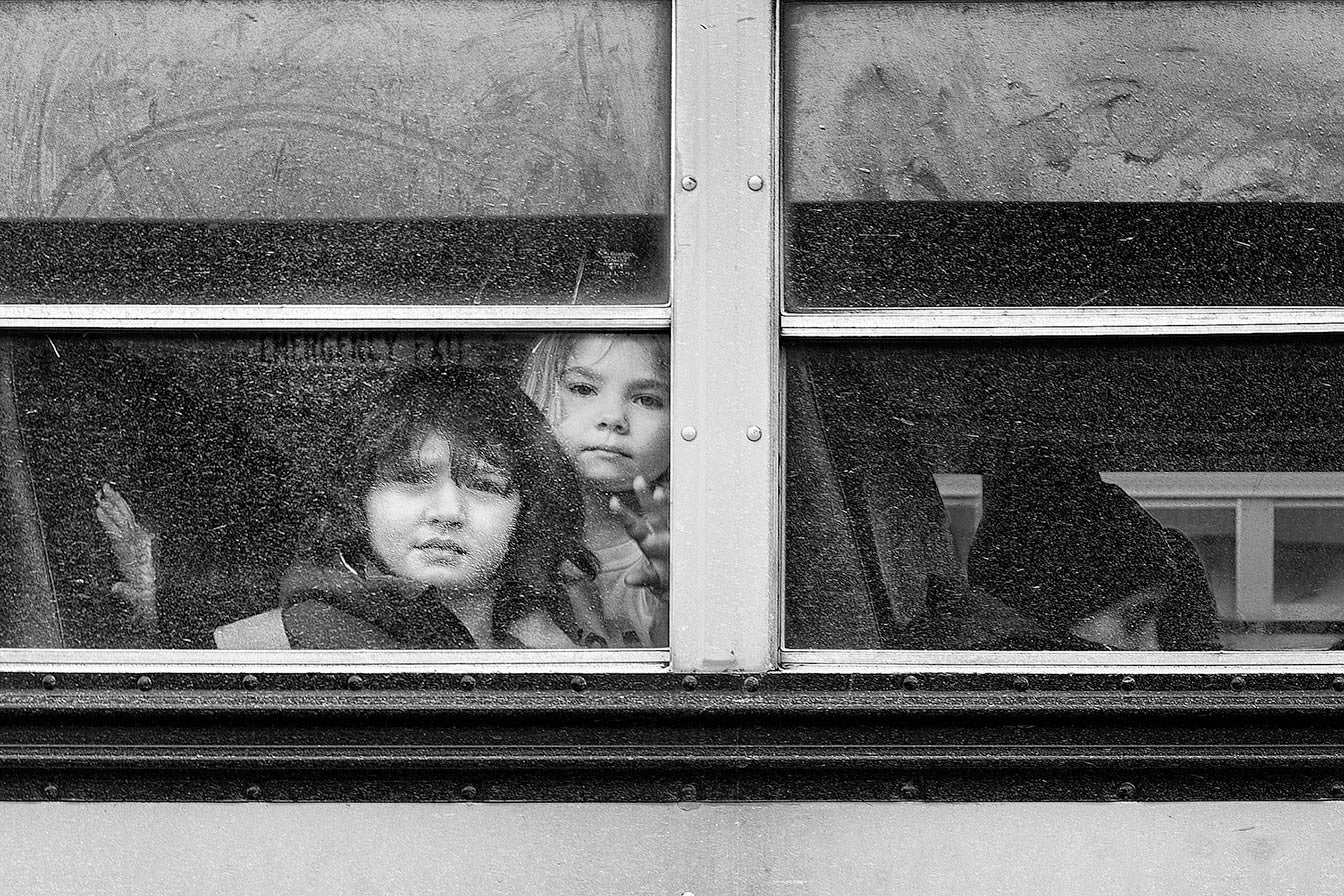 Windows Two from the Bus Kids sires / various sizes / various treatments available