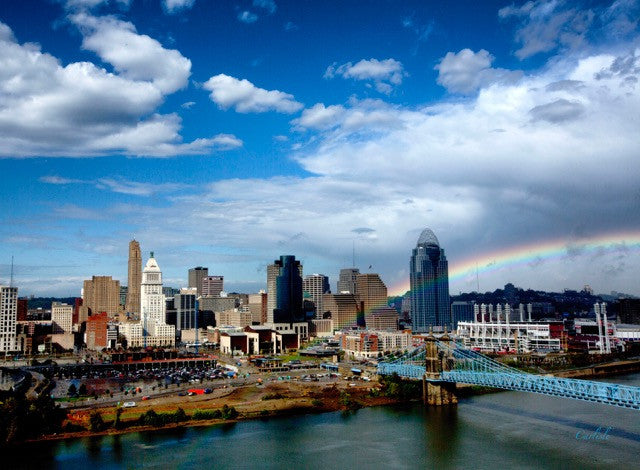 Cincinnati-Pot of Gold / 36 x 24 / photography