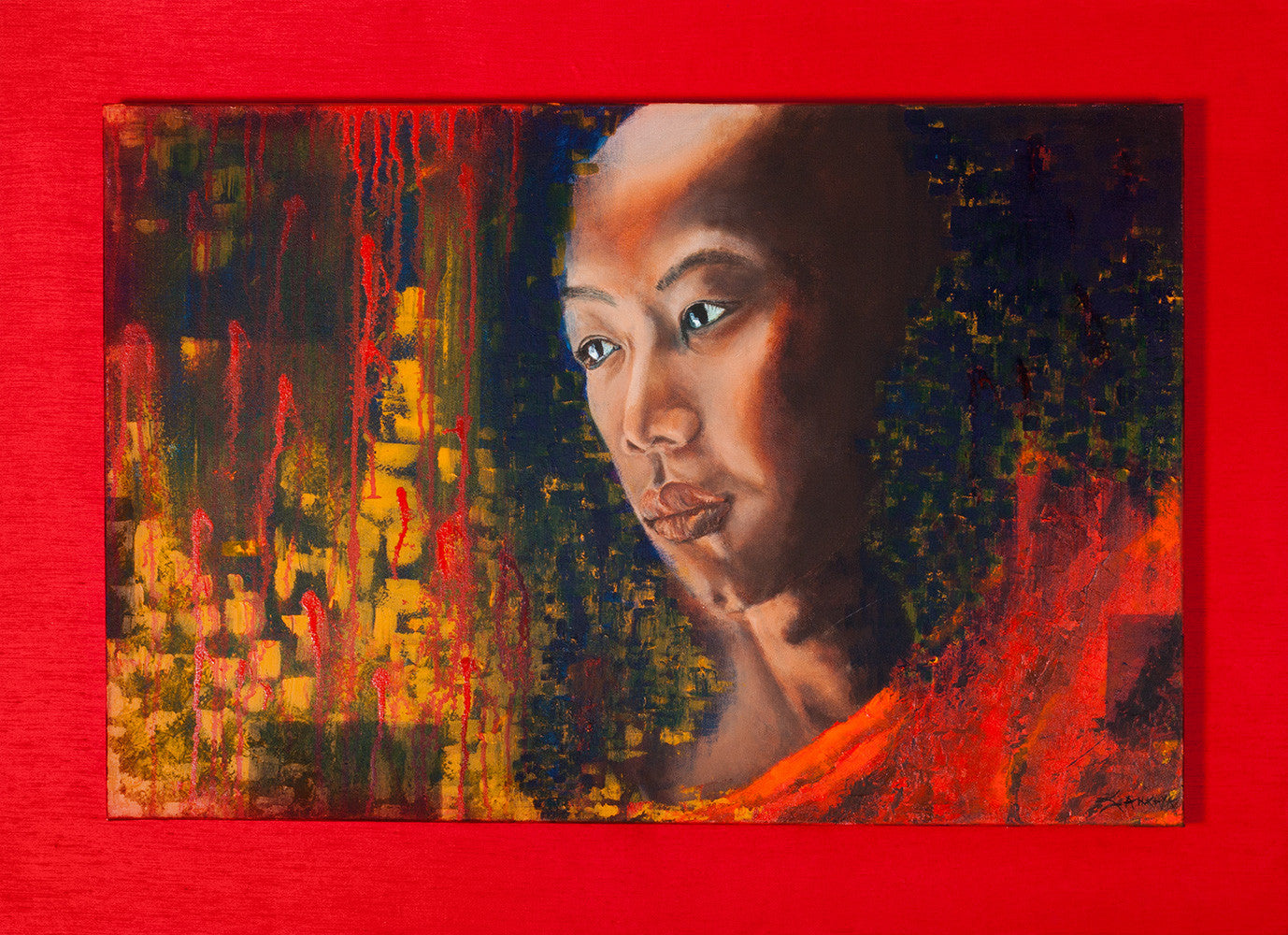 Contemplation / 24x36 / acrylic on canvas