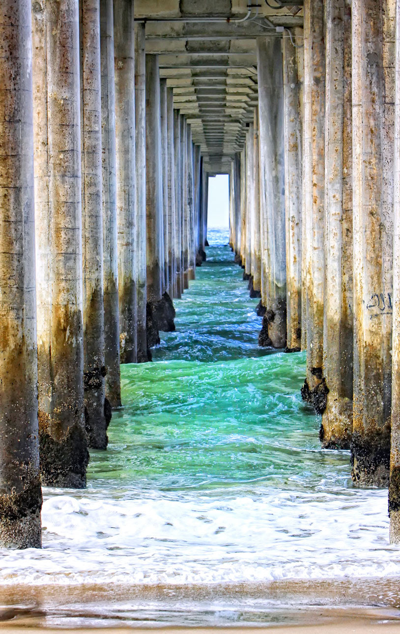 Huntington Beach Pier / photography / custom sizes available