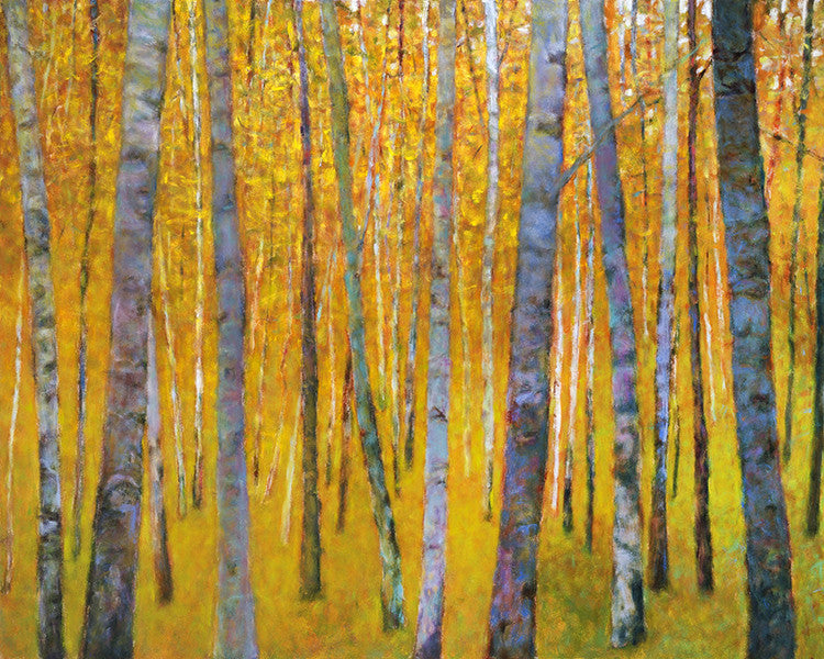 Forest Verticals / 48x60 / oil on canvas / giclee prints in various sizes