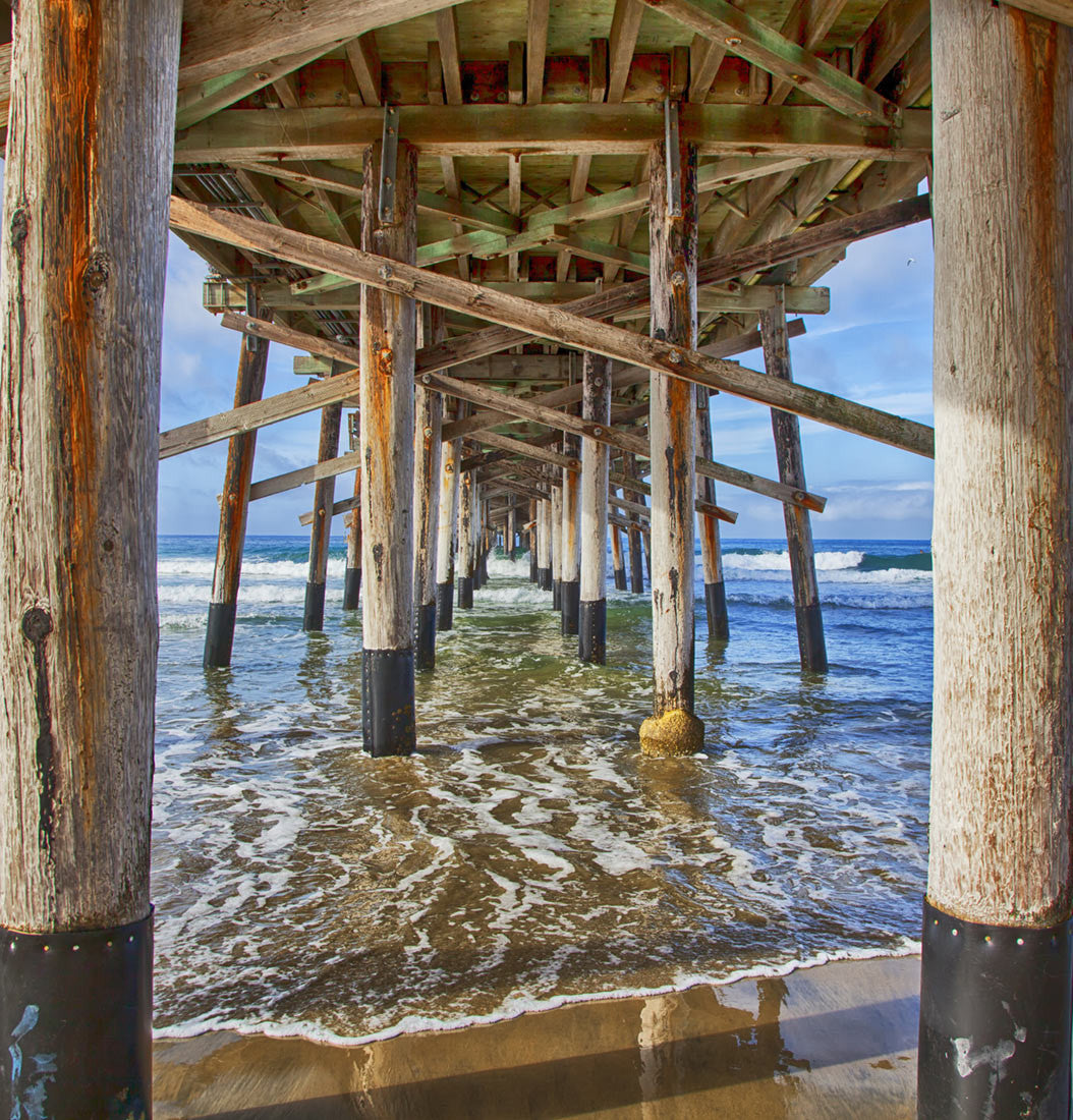 Newport Beach Pier / photography / custom sizes available