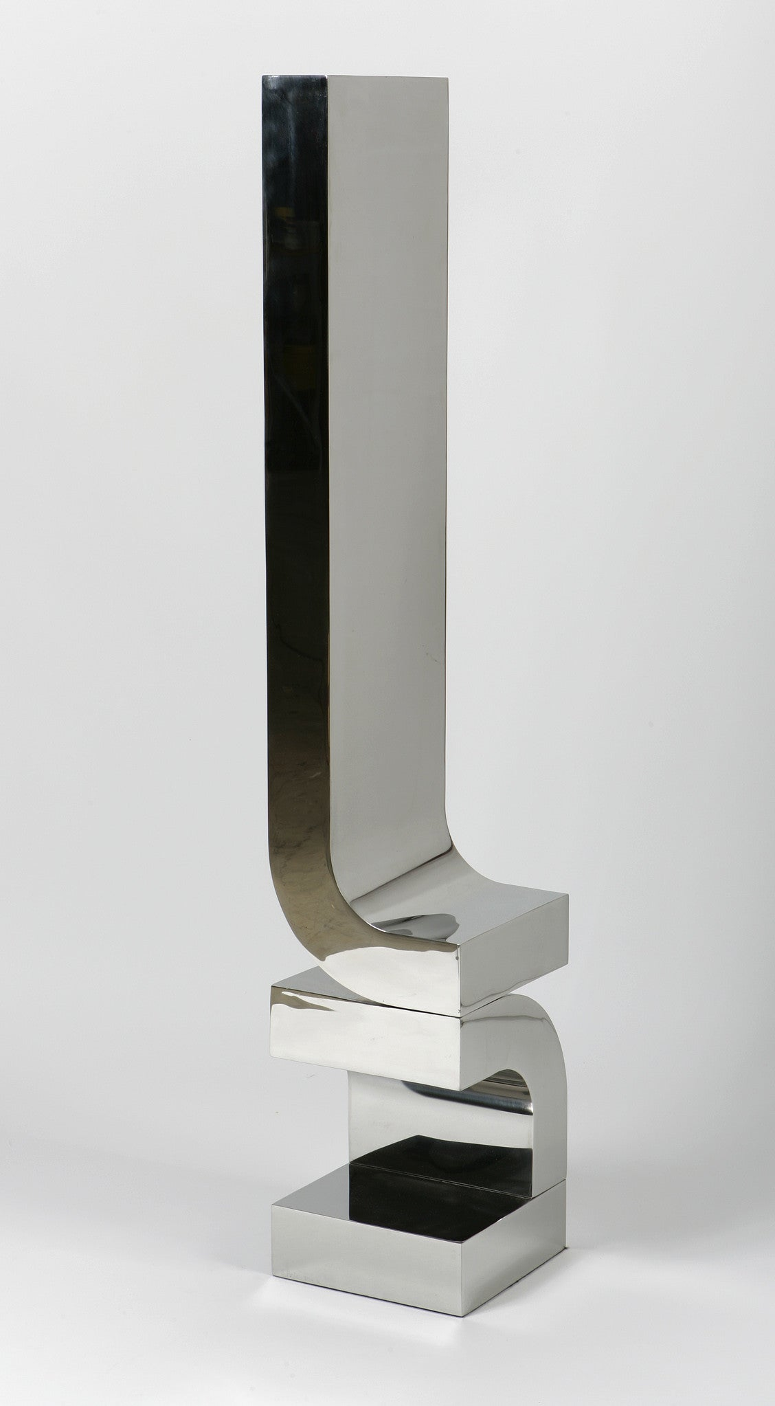 Series 4 #19 / 12 x 86 x 12 / stainless steel