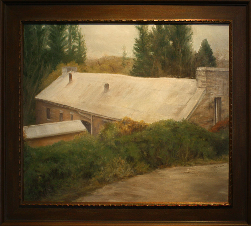 The Old Baker Bird Winery / 36 x 30 / Oil on Canvas