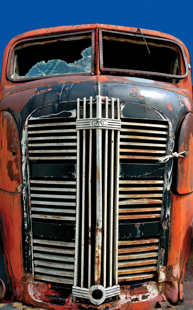 Truck Grill I / 28.5 x 40 / photograph on archival watercolor paper
