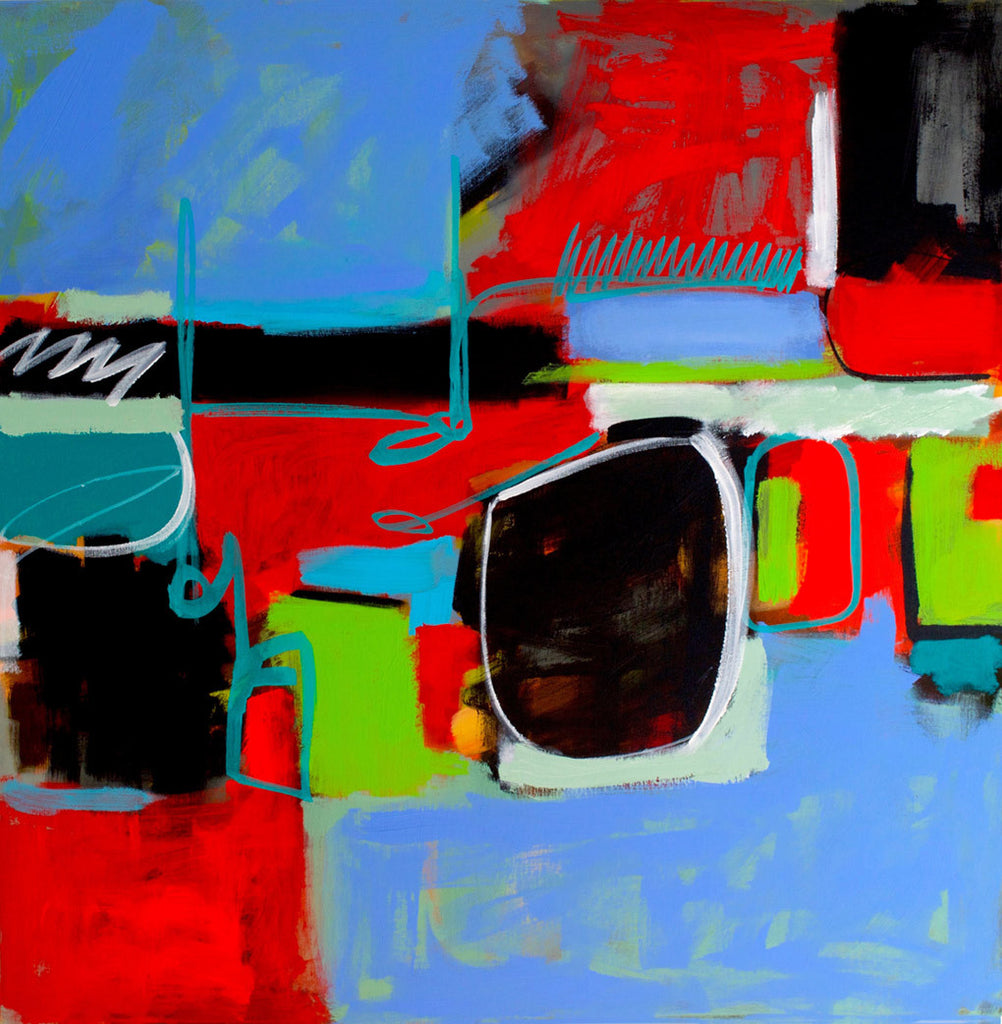 Urban Renewel / 36 x 36 / acrylic on canvas