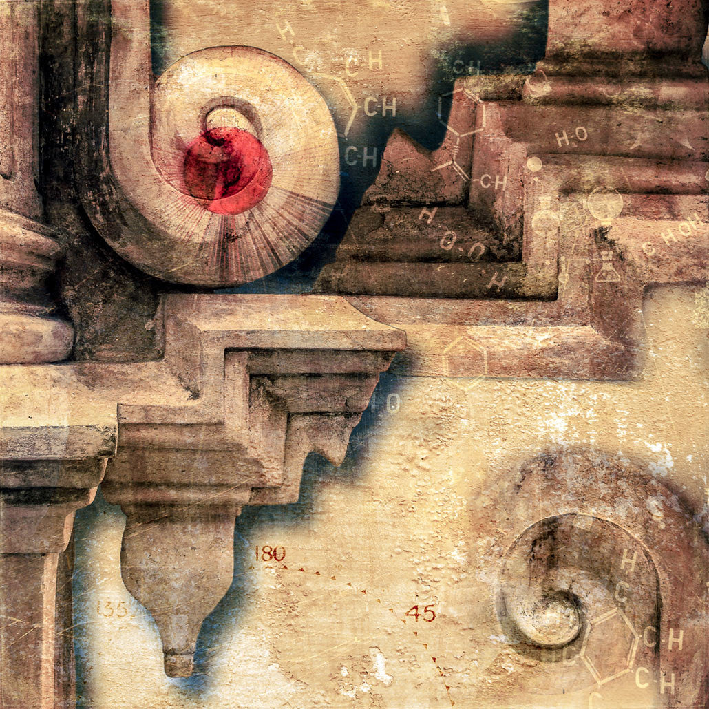 Architectural Alchemy / 26 x 26 / archival pigment print on paper