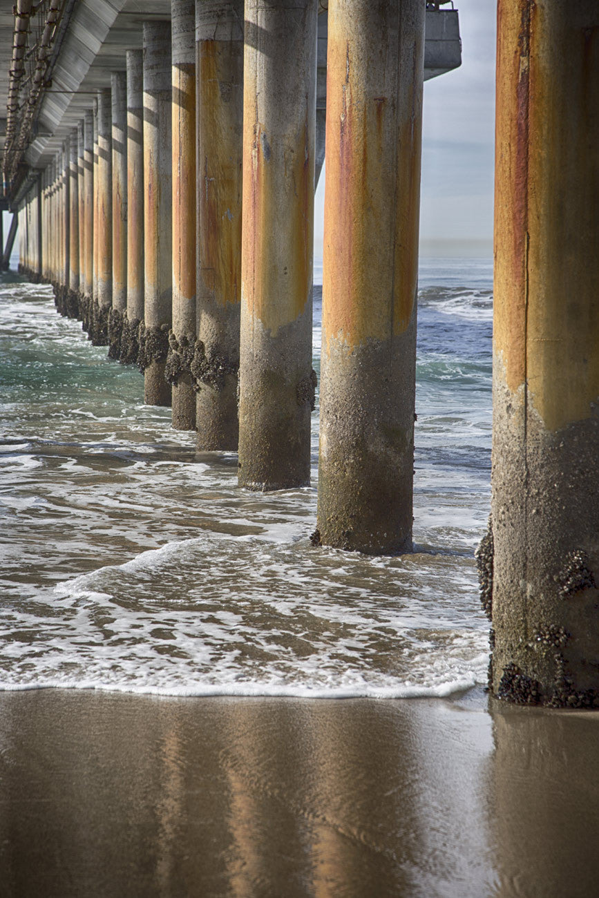 Venice Pier Columns / photography / custom sizes available