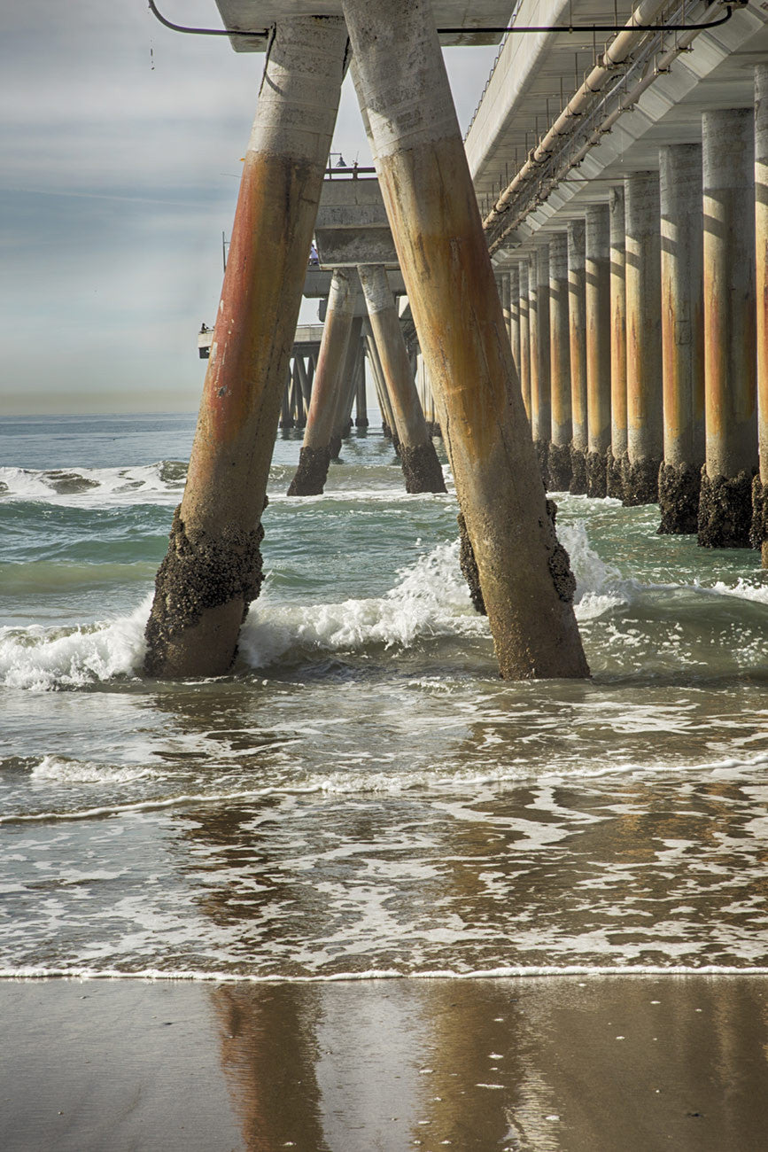 Venice Pier Left / photography / custom sizes available