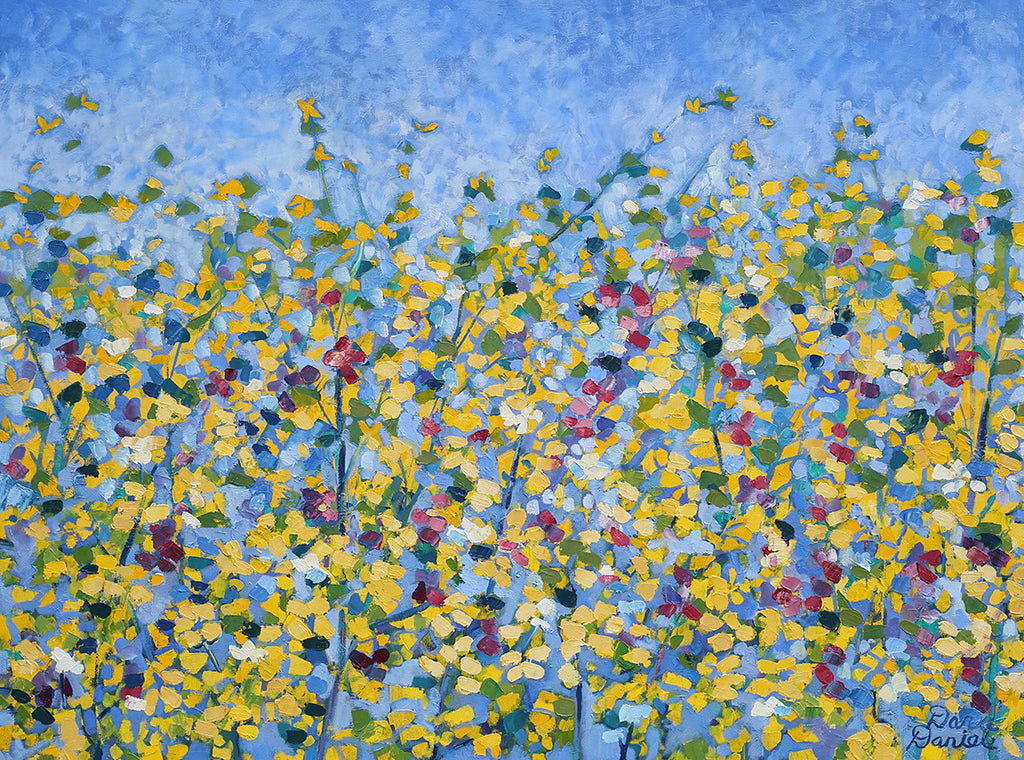 Wild Flowers / 30 x 40 / Oil on Canvas