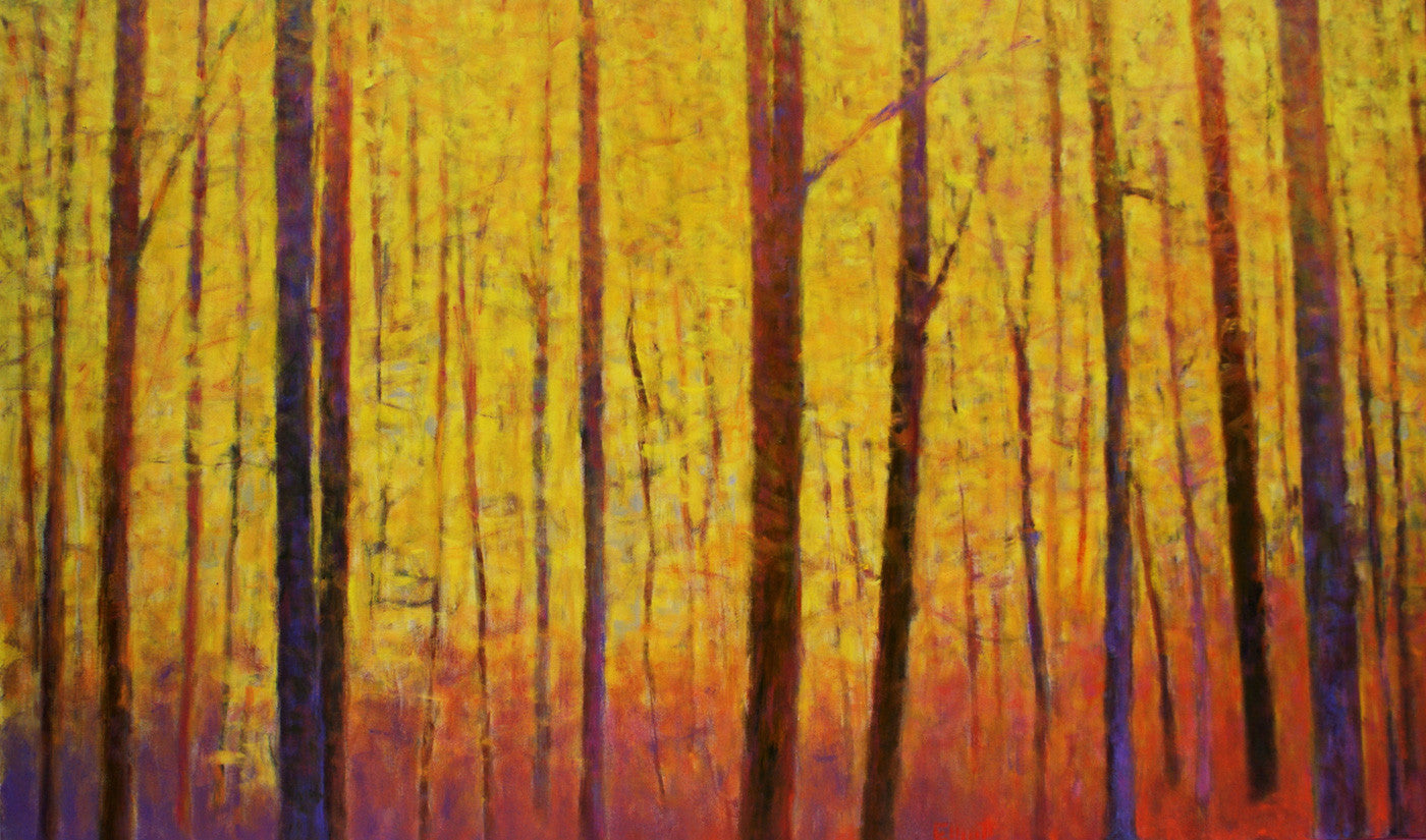 Yellow Wall / 36x60 / oil on canvas / giclee prints in various sizes