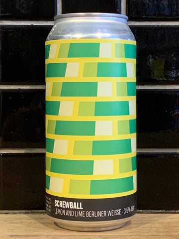 Howling Hops Screwball Lemon & Lime Berliner Weisse Sour