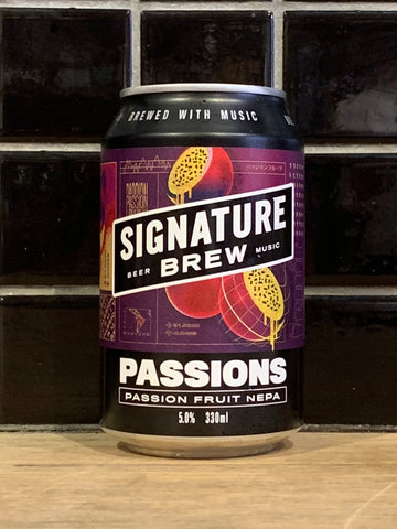Signature Passions Passionfruit New England Pale