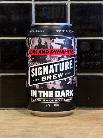 Signature In The Dark Smoked Lager