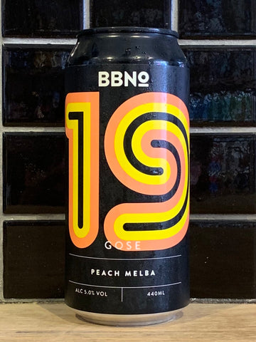 Brew By Numbers Peach Melba Gose Sour
