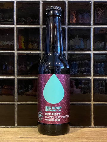 Big Drop Off-Piste Alcohol Free Hazelnut Porter