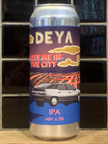 Deya Meet Me In The City IPA