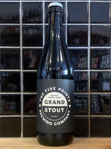 Five Points Whisky Barrel Aged Grand Stout