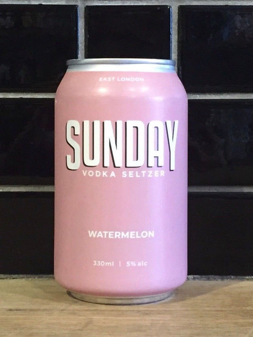 Sunday Seltzer Co Watermelon