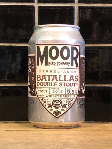 Moor X La Quince Batallas Whisky Barrel Aged Double Stout